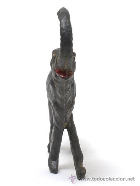 Figuras de Goma y PVC: ANIMALES - ELEFANTE DE LA MARCA GAMA, EN GOMA, SERIE GRANDE, CIRCA 1950 - Foto 3 - 48935494