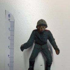 Figuras de Goma y PVC: SOLDADO ALEMAN PECH GOMA SERVIDOR DE ARTILLERIA. Lote 48951585