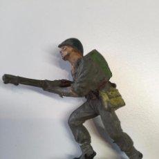 Figuras de Goma y PVC: SOLDADO AMERICANO PECH GOMA . Lote 48966493