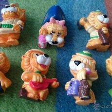 Figuras Kinder: LOTE 7 FIGURAS LEONES HUEVOS KINDER. Lote 48981478