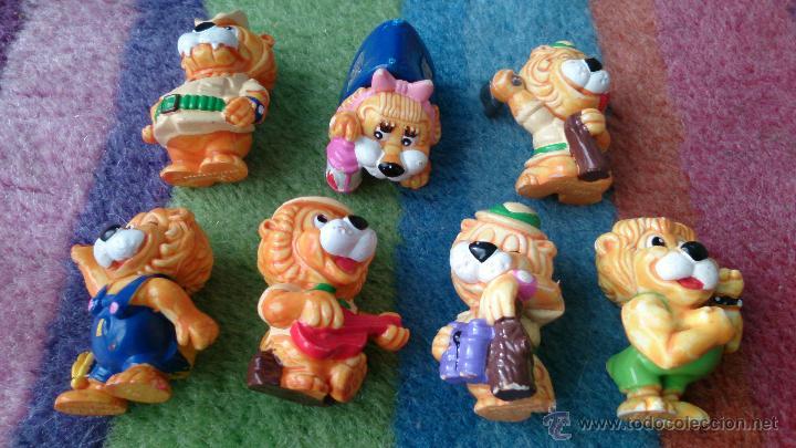 Figuras Kinder: lote 7 figuras leones Huevos Kinder - Foto 2 - 48981478