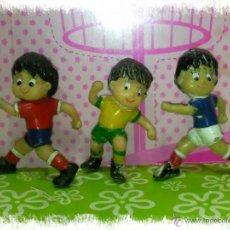 Figuras de Goma y PVC: LOTE DE 3 DIFICILES MUÑECOS PVC DE SPORT BILLY AÑO 1982. Lote 48986254