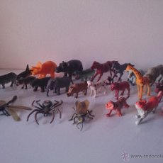 Figuras de Goma y PVC: FIGURAS ANIMALES. Lote 48988905