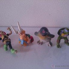 Figuras de Goma y PVC: FIGURAS ASTERIX, TORTUGA NINJA. Lote 48990307