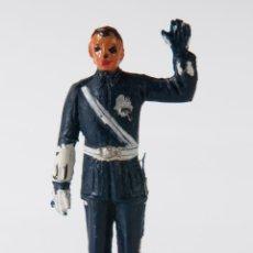 Figuras de Goma y PVC: FIGURA GUARDIA URBANO POLICIA LOCAL EN GOMA DE JECSAN. Lote 49011615