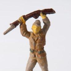 Figuras de Goma y PVC: FIGURA SOLDADO DE GOMA JECSAN . Lote 49027561