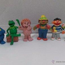 Figuras de Goma y PVC: FIGURAS PVC BARRIO SESAMO ESPINETE- DON PIMPON...COMIC SPAIN. Lote 49066727