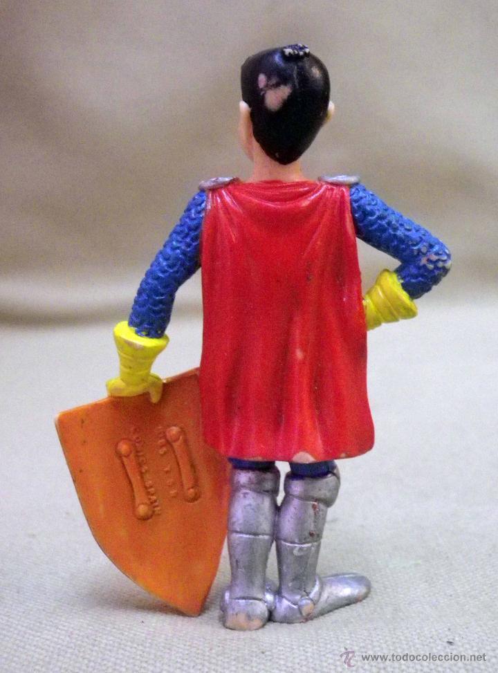 Figuras de Goma y PVC: FIGURA DE PVC, FABRICADA POR COMICS SPAIN, ERIK, EL CABALLERO, SERIE DRAGONES Y MAZMORRAS, ESPAÑA - Foto 2 - 49093880