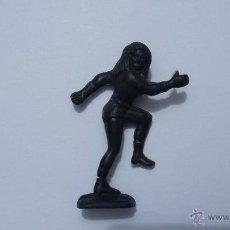 Figuras de Goma y PVC: FIGURA . SERIE HEROES MARVEL. SPIDERMAN COLOR NEGRO DUNKIN 4 FANTASTICOS MUJER INVISIBLE. Lote 49162649