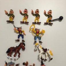 Figuras de Goma y PVC: LOTE DE FIGURAS LUCKY LUKE DE COMANSI. Lote 94058777