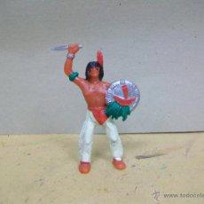 Figuras de Goma y PVC: FIGURA INDIO COMANSI - INDIO DE COMANSI . Lote 49203332