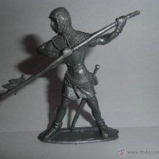 Figuras de Goma y PVC: GUERRERO MEDIEVAL COMANSI, AÑOS 60.. Lote 49352070