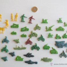 Figuras de Goma y PVC: LOTE FIGURAS PLANAS PLASTICO - MONTAPLEX O SIMILAR . Lote 49369648
