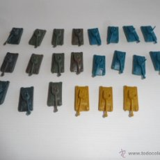 Figuras de Goma y PVC: LOTE TANQUES PLASTICO MONTAPLEX O SIMILAR. Lote 49369937