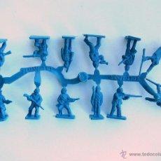 Figuras de Goma y PVC: MONTAPLEX - COLADA DE YANQUIS DEL SOBRE Nº 110 YANQUIS - AZUL. Lote 49450754