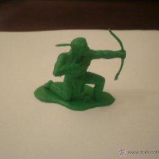 Figuras de Goma y PVC: INDIO SIOUX DE REAMSA GOMARSA AÑOS 60 INDIOS Y VAQUEROS MADE IN SPAIN . Lote 49475534
