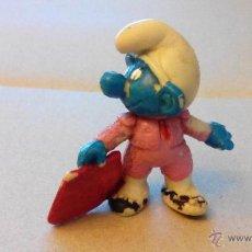 Figuras de Goma y PVC: PITUFO TORERO - DIFICIL - EL MAS BUSCADO - PITUFO BULLFIGHTER-SCHLUMPF TORERO. Lote 49492359