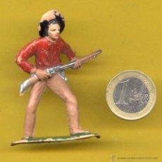 Figuras de Goma y PVC: OESTE VAQUERO AÑOS 60. Lote 49498355