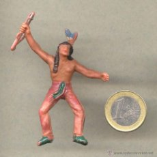 Figuras de Goma y PVC: OESTE INDIO AÑOS 60. Lote 49498386