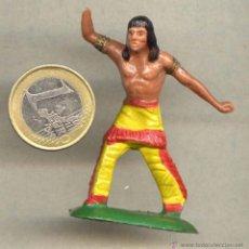 Figuras de Goma y PVC: OESTE INDIO AÑOS 70 STARLUX FRANCIA 2. Lote 49498894