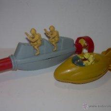 Figuras de Goma y PVC: FIGURAS DE PLASTICO....SUBMARINISTAS.. Lote 49506381