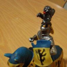 Figuras de Goma y PVC: CABALLERO MEDIEVAL SCHLEICH. Lote 49512316