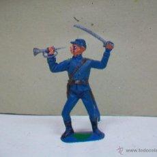 Figuras de Goma y PVC: FIGURA FEDERAL DE JECSAN - FEDERADO JECSAN - NORDISTA JECSAN - YANQUI JECSAN. Lote 49518157