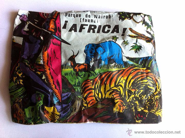 SOBRE MONTAPLEX Nº 1041 PARQUE DE NAIROBI AFRICA - SOBRE CERRADO (Juguetes - Figuras de Goma y Pvc - Montaplex)