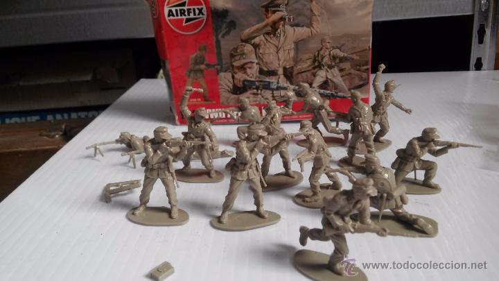 Figuras de Goma y PVC: caja airfix soldados alemanes - Foto 2 - 49545446