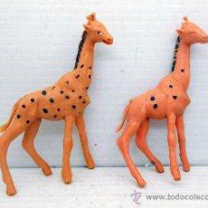 Figuras de Goma y PVC: 625 JIRAFA JIRAFAS PLASTICO SERIE AFRICA SAFARI JECSAN PECH ALFREEDOM SOTORRES REAMSA. Lote 49554335