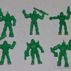 Figuras de Goma y PVC: (M) DUNKIN - PANRICO - LOTE DE 6 FIGURAS DUNKIN, DESCONOZCO QUE MODELO SON !!! , BUEN ESTADO. Lote 49576601
