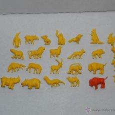 Figuras de Goma y PVC: (M) DUNKIN - LOTE DE 26 FIGURAS ANIMALES , BUENE STADO. Lote 49577248