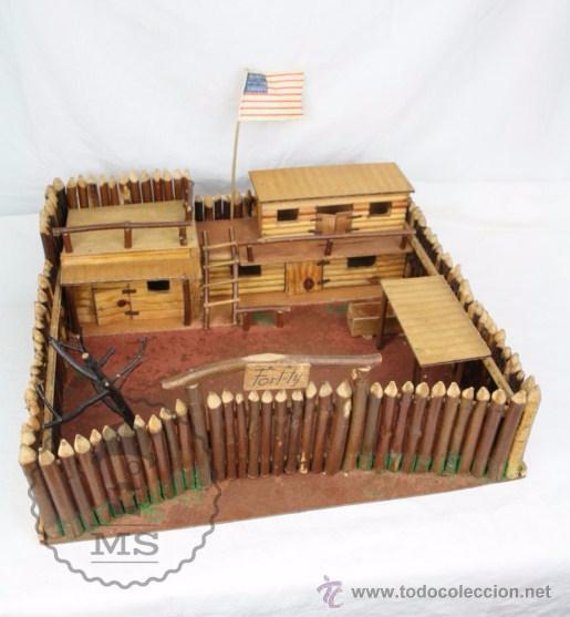 Antiguo fuerte del oeste fort ty de madera para comprar - Pegamento fuerte para madera ...