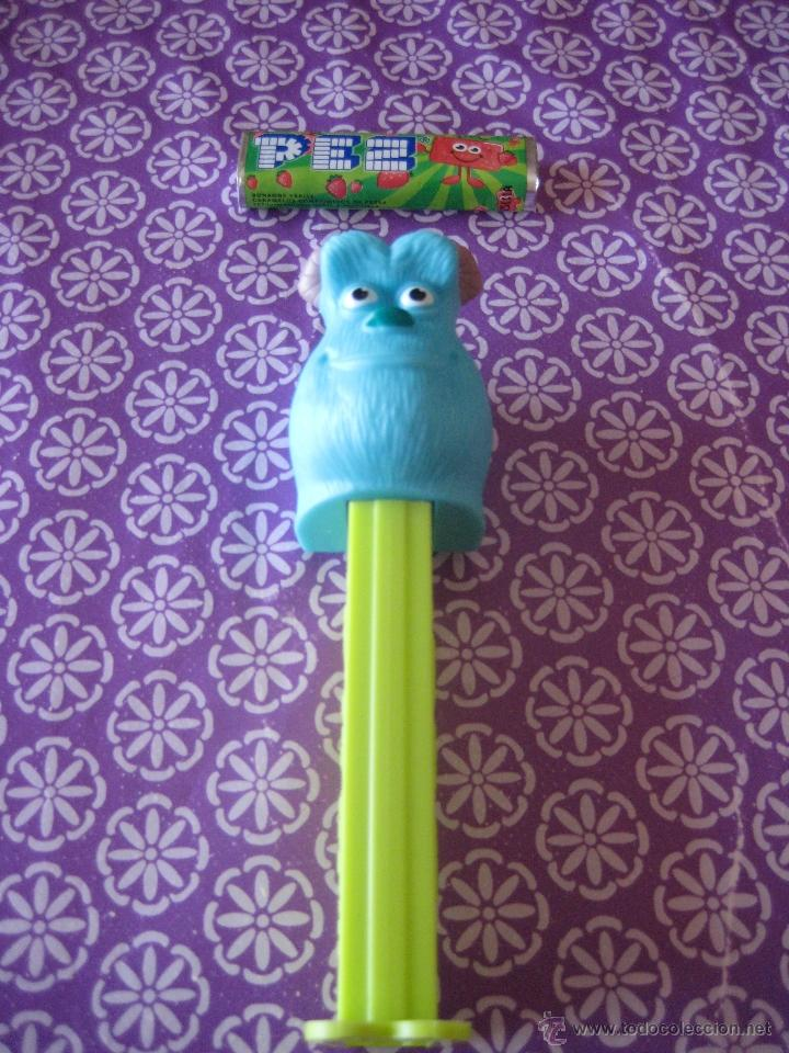 DISPENSADOR CARAMELOS PEZ (DISNEY-THE BEST OF PIXAR)SULLEY ¨MONSTRUOS S.A¨ (Juguetes - Figuras de Gomas y Pvc - Dispensador Pez)