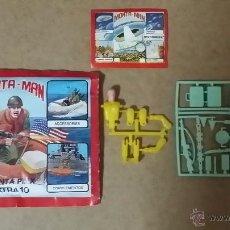 Figuras de Goma y PVC: SOBRE ABIERTO PERO COMPLETO MONTA MAN EXTRA 10 MONTAPLEX DIFÍCIL. Lote 49696411