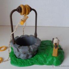 Figuras de Goma y PVC: POZO ALDEA PITUFOS SMURFS SCHTROUMPFS PEYO SCHLEICH AÑOS 80 CASA PITUFO .. Lote 49751281