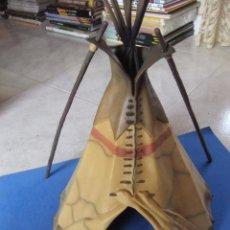 Figuras de Goma y PVC: TIPI SIOUX MARCA SCHLEICH AÑO 2005 DESCATALOGADO. Lote 49752909