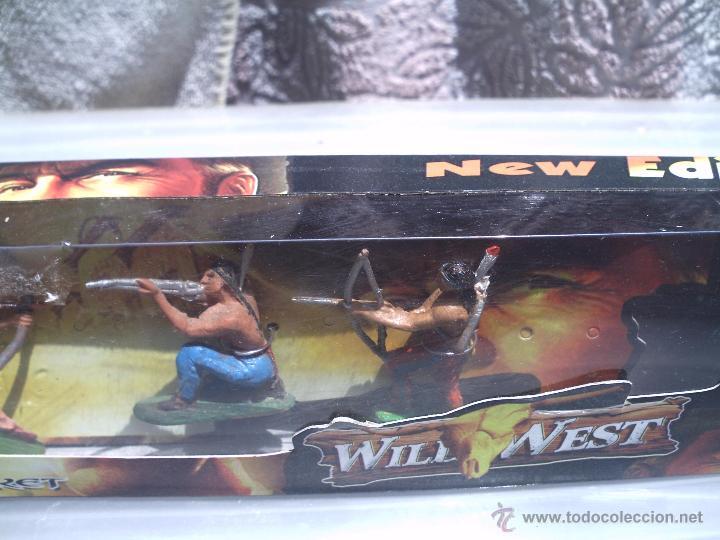 Figuras de Goma y PVC: indios de jecsan en caja - Foto 3 - 49850242