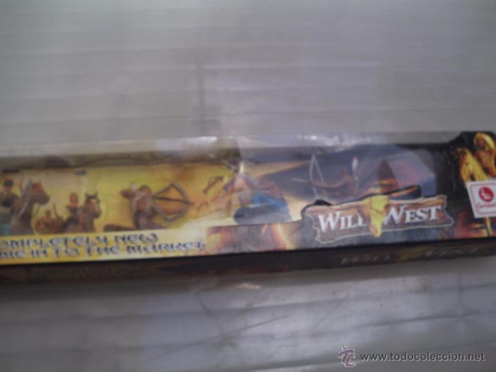 Figuras de Goma y PVC: indios de jecsan en caja - Foto 5 - 49850242