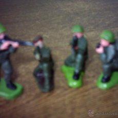 Figuras de Goma y PVC: LOTE DE SOLDADOS MADEIN HONG KONG FOR BRITAINS LTD. Lote 49937677