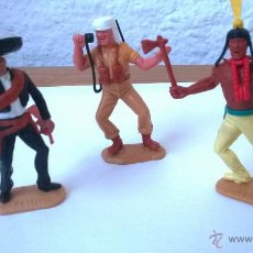 Figuras de Goma y PVC: TRES FIGURAS DE TIMPO. Lote 50040238