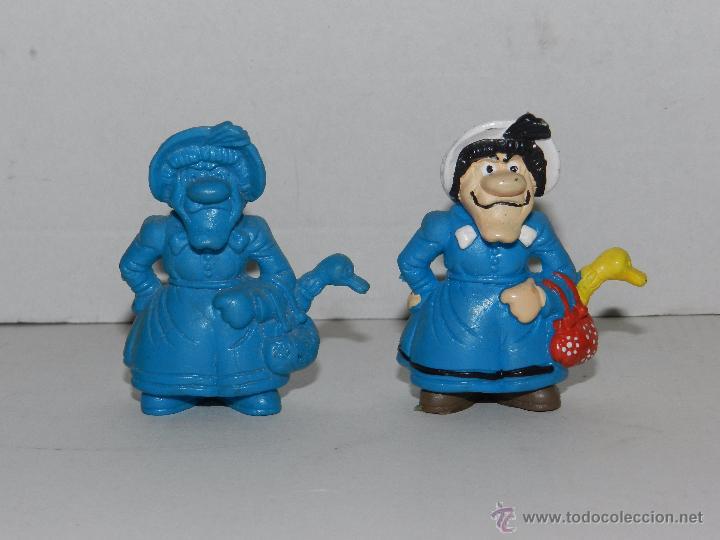 (M) 2 FIGURAS SERIE LUCKY LUKE - MAMA DALTON , SCHLEICH, FIGURA PINTADA Y SIN PINTAR (Juguetes - Figuras de Goma y Pvc - Schleich)