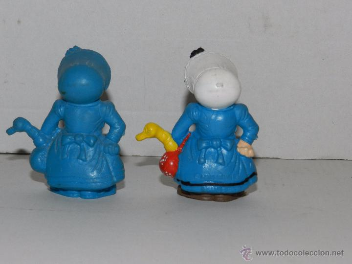 Figuras de Goma y PVC: (M) 2 FIGURAS SERIE LUCKY LUKE - MAMA DALTON , SCHLEICH, FIGURA PINTADA Y SIN PINTAR - Foto 2 - 50052173