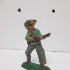 Figuras de Goma y PVC: COWBOY VAQUERO DE PECH GOMA. Lote 50162818