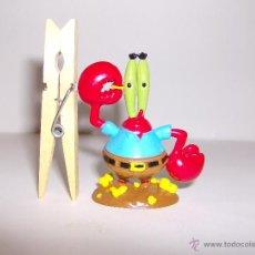 Figuras de Goma y PVC: SEÑOR CANGREJO (BOB ESPONJA). PVC. © VIACOM. Lote 110843275