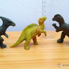 Figuras de Goma y PVC: JURASSIC PARK DINOSAURIOS DANONE. Lote 50373370
