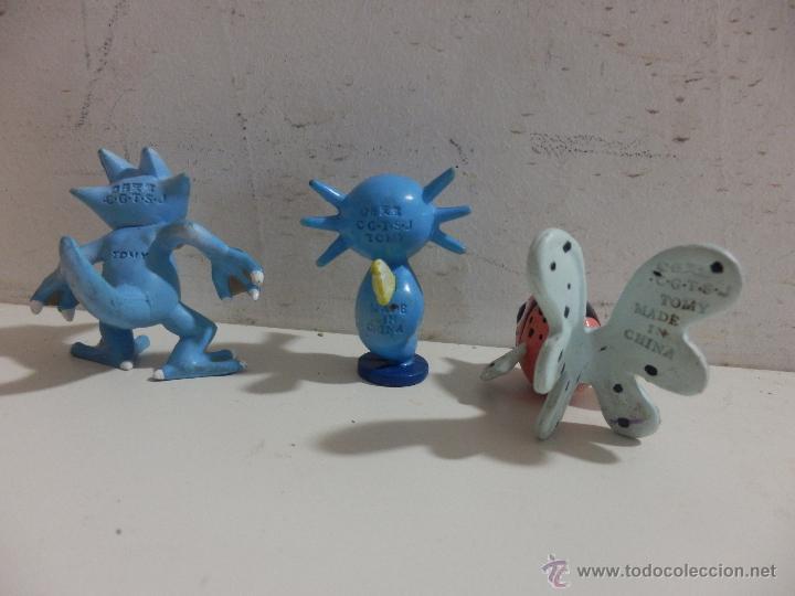 TOMY POKEMON FIGURAS DE PVC (Juguetes - Figuras de Goma y Pvc - Otras)