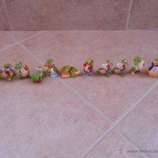 Figuras Kinder: 11 FIGURA PVC KINDER SORPRESA COLECCIÓN FUNNY VERSARY - COCODRILO FOTÓGRAFO (2014). Lote 50423206