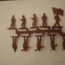Figuras de Goma y PVC: COLADA DE SOLDADOS DE MONTAPLEX SOLDADITOS. Lote 50432011