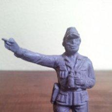 Figuras de Goma y PVC: ANTIGUA FIGURA MILITAR JAPONES EN PLASTICO DE JECSAN ORIGINAL AÑOS 60/70. Lote 50437864